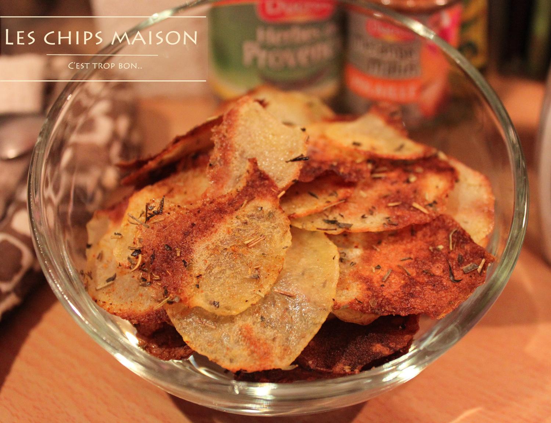 Chips au four maison chachou 39 s kitchen - Chips fait maison au four ...