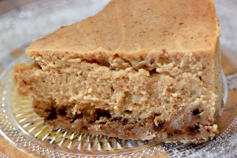 cheesecake au beurre de cacahu 232 te chachou s kitchen