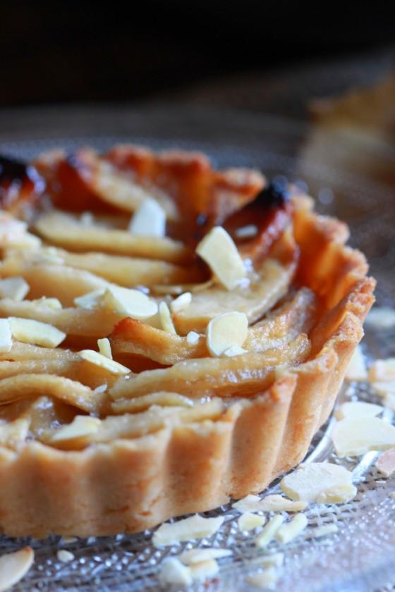 Tartelette pomme poire amande3
