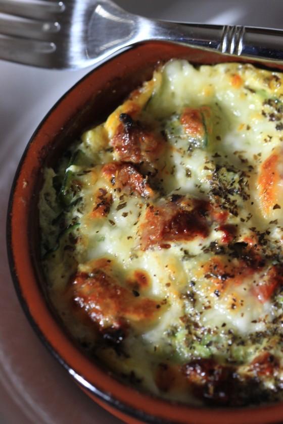 Gratin courgettes, tomates et mozza (1)