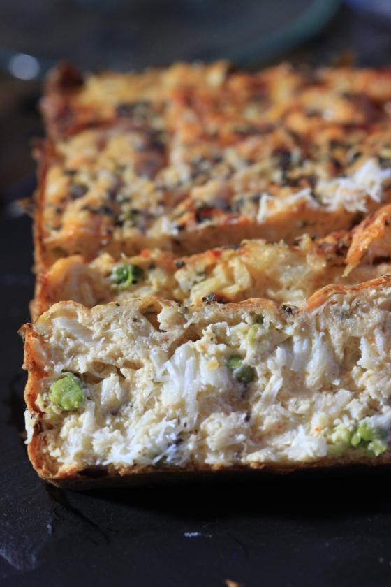 Moelleux de cabillaud et petits pois la moutarde et parmesan sans balance chachou 39 s kitchen - Peser farine sans balance ...